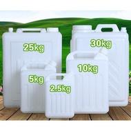 食品級扁方儲水桶塑膠桶10L升水桶5斤酒壺食用花生油桶帶蓋塑膠桶#創意園