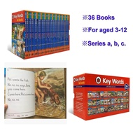 [36 Books] Ladybird Key WordsPeter and JaneChildrens BooksStory Books for 4-12 YearsAbout 4kg