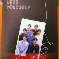BTS Love Yourself TEAR Special Photocard