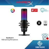 HyperX QuadCast /Quadcast S RGB Lighting USB Gaming Microphone for streamers and content creators