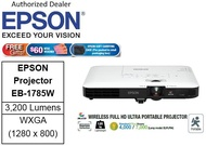 Epson EB-1785W Wireless Portable Projector with CNY gift (64GB Flash drive ) ** Free $60 NTUC Voucher + Epson Soft Carring Case (Pre-Packed In Retail Packaging Box) Till 2nd Mar 2019 ** EB1785W EB 1785W