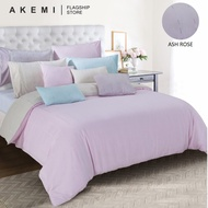 AKEMI Tencel Touch Clarity - Diletta (Ash Rose/ Quilt Cover Set)