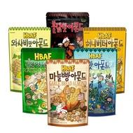 【Toms Gilim】韓國湯姆農場杏仁果家庭號210g(芥末/蜂蜜奶油/海苔/火辣雞)