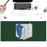 Attack On Titan Custom game player rubber material large mouse pad anime mouse keyboard pad