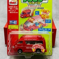 1/64 Tomica 絕版車 限量車多美 TT-02 自體發光車 發光車 救護車