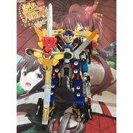【柒之戀】萬代 bandai 特命戰隊DX 特命合體王 大Buste機器人