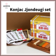 [Korean traditional snacks] Konjac Jjondeugi Chewy Snacks 5 types total set 1 box