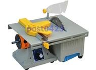 玉石切割雕刻機東潤新加強第三代多功能台鋸多用木工台鋸 迷你拋光機