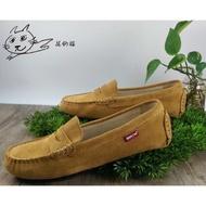花的貓 ORIS 豆豆鞋 懶人鞋 麂皮休閒鞋 女鞋 S7702