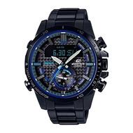Casio Edifice นาฬิกาข้อมือผู้ชาย สายสแตนเลส รุ่น ECB-800DC,ECB-800DC-1A - สีดำ