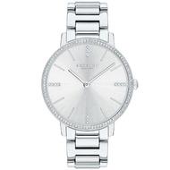 【COACH】名媛風璨漾晶鑽鍊帶腕錶-34mm/銀(14503353)