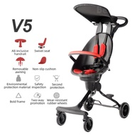 BAOBAOHAO V5 MAGIC STROLLER BABY TROLLEY STROLLER PORTABLE LIGHTWEIGHT FOLDABLE FOR KIDS TWO-WAY FACING WITH SUNROOF