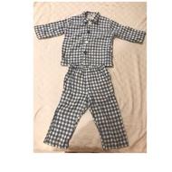 二手 無印良品 格子睡衣(90 cm)
