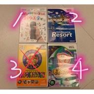 Wii 二手遊戲片  運動 毛線小子 度假勝地