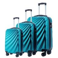 พีซีแบบหรูกระเป๋าถือเดินทางกระเป๋ากระเป๋าเดินทางล้อลากแฟชั่นล้อ24 Drop-Resistant กระเป๋าเดินทาง20/24/28นิ้ว Scratch-Resistant