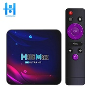 H96 Max Android 11 Smart  4K UHD for Home Video,4+64G-UK Plug Ready Stock