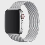 ห่วง Milanese สำหรับ Apple นาฬิกา44มม.40มม.IWatch 38มม.42มม.สร้อยข้อมือโลหะ Correa applewatch Series 3 4 5 SE 6
