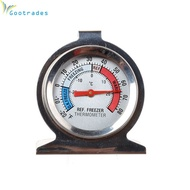 Refrigerator Freezer Thermometer Fridge DIAL Type Stainless Steel Hang Stand Hot