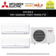 (PNS) MITSUBISHI STARMEX AIRCON SYSTEM 2 / 3 / 4