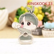 BTS Bangtan Boys Case 360 Degree Rotation JUNGKOOK Phone Ring Finger Buckle Stand Holder Cell Mobile Phone Stand Accessories Rings ZHK