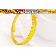 Pure gold bracelet 916 starry
