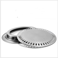 [Pannow] Barbecue Grill Pan Gas Household Non-Stick Gas Stove Plate Electric Stove Baking Tray BBQ Grill Barbecue Tools