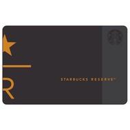 STAR R 典藏隨行卡  臺灣星巴克 隨行卡 典藏 典藏卡 典藏門市 典藏 卡片 黑卡 經典品牌 復古品牌