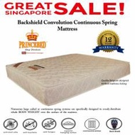 BackShield II 3040 Convolution Continuous Spring Queen Size 8 Inch Mattress