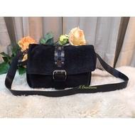 Celine Vintage Suede Leather Cross Body Bag Authentic 💯%