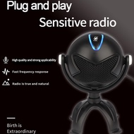 Alien Snowball Microphone Usb Computer Recording Singing Ps4 Game Chat Desktop Notebook Condenser Microphone