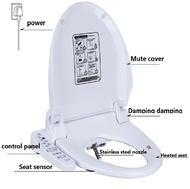 Smart Heated Toilet Seat Bidet Toilet Seats House WC Sitz Intelligent Water Closet Automatic Toilet Bowl Lid Cover 220V