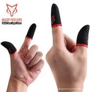 gloves  ^^disposable gloves latex^^ Sarafox Finger Sleeve Gaming Sweatproof Gloves Sleeve Touchscreen Game Controller Ph
