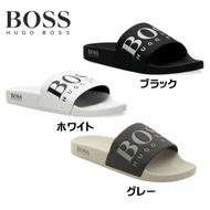 Hugo老闆Hugo Boss Solar Slid Logo Slider Flip Flop Hugo老闆涼鞋 e-ShopSmart