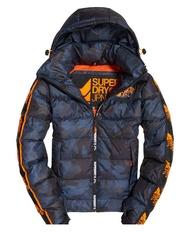 跩狗嚴選 特價代購 極度乾燥 Superdry 極地 藍迷彩 Puffer 滑雪外套 雪衣 Ski 防水 防風 戶外運動