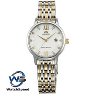 Orient SSZ45002W0 Analog Quartz Two Tone White Dial Stainless Steel Ladies / Womens Watch