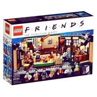 LEGO 21319 六人行 中央公園咖啡廳