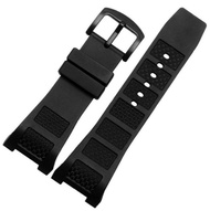 30x16mm Black Concave Lug Rubber Silicone Watch Band Strap Fits for IWC IWC500501
