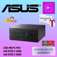 ASUS Mini PC PN51 AMD Ryzen Desktop [5300U/5500U] 3YEARS ONSITE WARRANTY