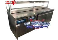 二手-卡布里工作台冰箱(雙機組)
