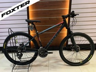FOXTER FT-302 2020 27.5 AUTHENTIC Bicycle Mountain Bike MTB Blue Red Black