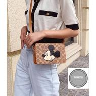 【พร้อมส่ง】miss bag fashion กระเป๋าสะพายข้างแฟชั่น รุ่น COACH-XDX-701 กระเป๋าหรู