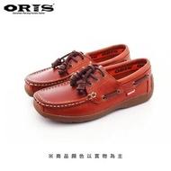【oris 帆船鞋】ORIS經典素色帆船鞋-淺咖啡/男款-988A05(真皮/手工/帆船鞋)