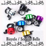Bicycle scooter Bell  Bicycle Accessories e scooter ebike horn safety
