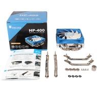 ►❄喬思伯HP400mini小機箱cpu風扇 htpc1155一體機itx超薄CPU散熱器