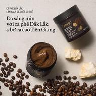Body scrub Cocoon Coffee Dak Lak Coffee