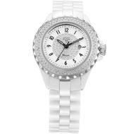 【HOGA】華麗陶瓷女士機械錶(兩色選擇-37mm)