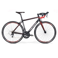 Merida (MERIDA) SHADOW Mirage 16-speed road bike Ping Li a black 700 * 50 (Recommended height 170-180CM)