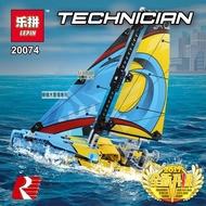 樂積木【當日出貨】樂拼20074 機械系列 遊艇  賽艇 帆船 瓶中船 海盜船 傑克 非樂高Lego相容 積木