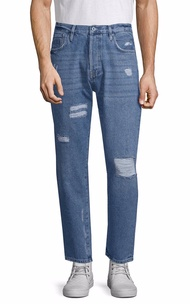 Superdry Mens  Distressed Ankle Pant