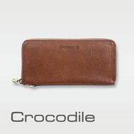 【Crocodile】Natural系列 義大利植物鞣原皮 手拿包 0103-5822